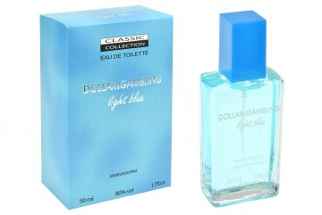 Toaletní voda Dollar & Gambling Light Blue - 50ml